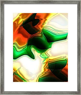 Abstract - Fusion Framed Print by Patricia Motley