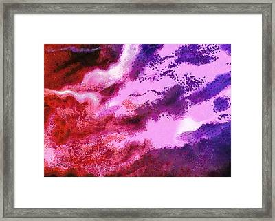 Abstract - Migration Framed Print by Russ Harris