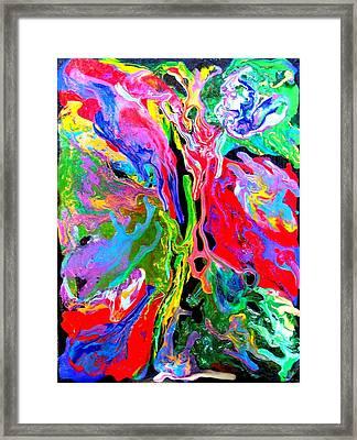 Abstract - Rebirth Series - Eva's Dream Framed Print by Dina Sierra