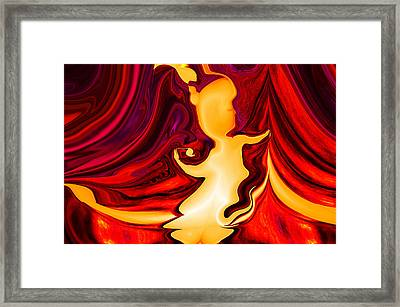 Abstract - She Is Framed Print by Patricia Motley
