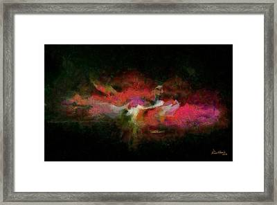 Abstract - Springtime Framed Print by Russ Harris