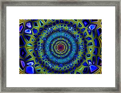 Abstract 010110 Framed Print by Jean-Marc Lacombe