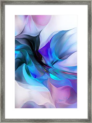 Abstract 012513 Framed Print