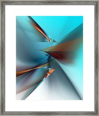Abstract 040411 Framed Print