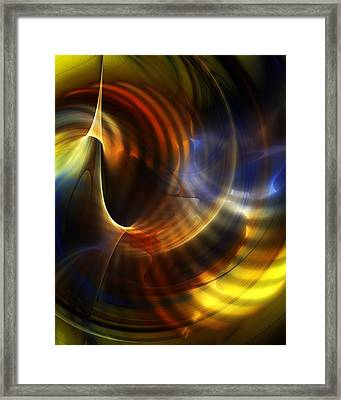 Abstract 040511 Framed Print