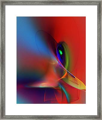 Abstract 042612a Framed Print