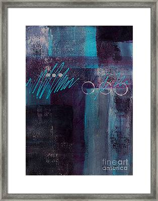 Abstract 053 Framed Print by Donna Frost