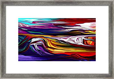 Abstract 06-12-09 Framed Print