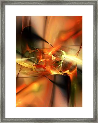 Abstract 060110a Framed Print
