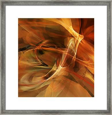 Abstract 060812a Framed Print