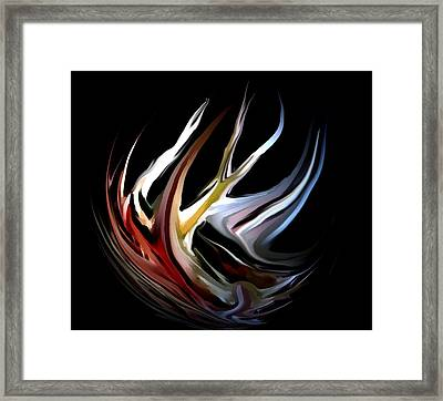 Abstract 07-26-09-c Framed Print by David Lane