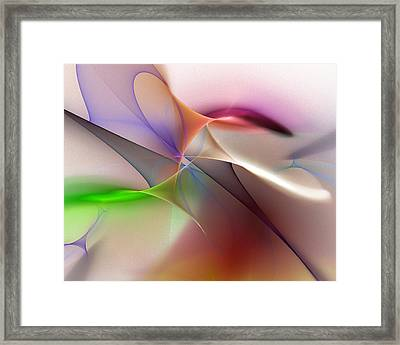 Abstract 082710 Framed Print