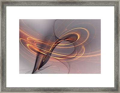 Abstract 090411 Framed Print by David Lane