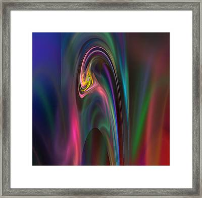 Abstract 091311a Framed Print by David Lane