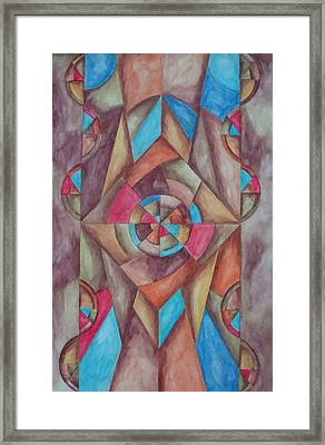 Abstract 1 Framed Print by Jason McRoberts