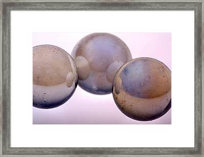 Abstract 1 Framed Print by Riana Van Staden