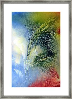 Abstract 1 Framed Print by Sevan Thometz