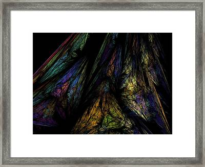 Abstract 10-08-09-1 Framed Print by David Lane