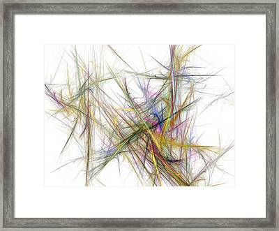 Abstract 10-16-09-2 Framed Print