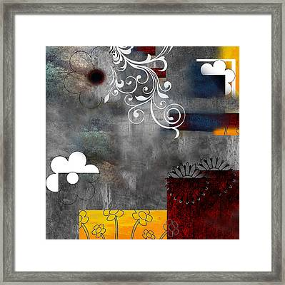 Abstract 10 Framed Print by Art Spectrum