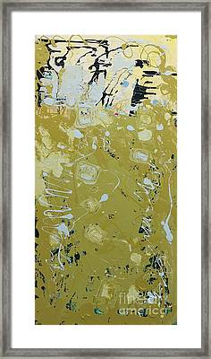 Abstract 1014 Framed Print by Gallery Messina