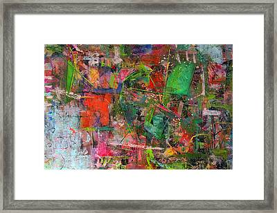 Abstract #101614 Framed Print by Robert Anderson