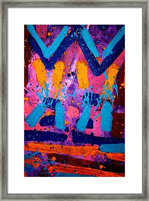 Abstract 10316 - Cropped Framed Print