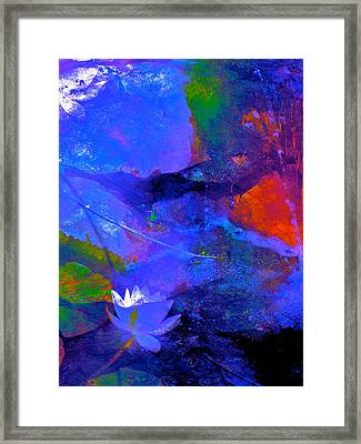 Abstract 112 Framed Print by Pamela Cooper