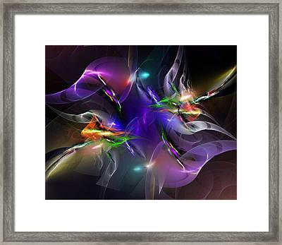 Abstract 112211 Framed Print by David Lane