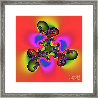 Abstract 115a Framed Print by Rolf Bertram