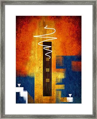 Abstract 12 Framed Print by Art Spectrum