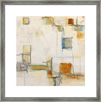 Abstract 1207 Framed Print by Gallery Messina
