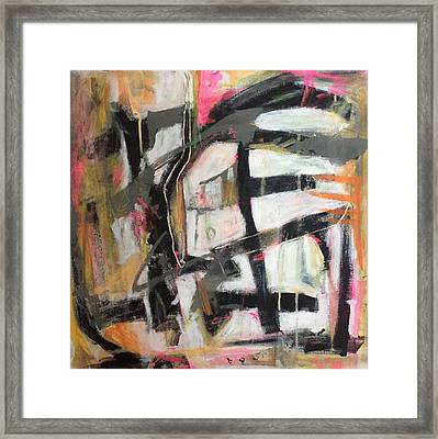 Abstract 1230-16 Framed Print by Shelley Graham Turner