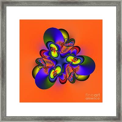 Abstract 127a Framed Print by Rolf Bertram