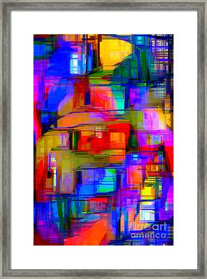 Abstract 1293 Framed Print