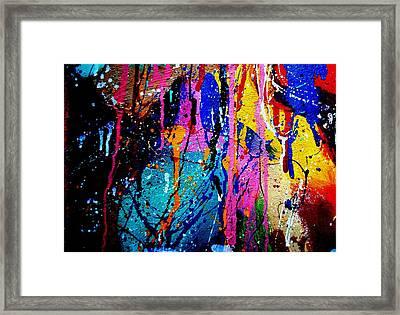 Abstract 15 Framed Print by John  Nolan