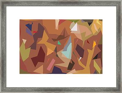 Abstract 16 Framed Print