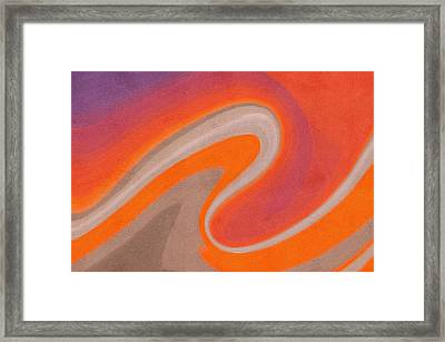 Abstract 19 Framed Print by Art Spectrum