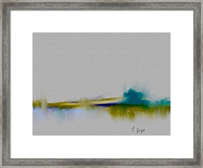 Abstract 2 Framed Print by Frank Bright