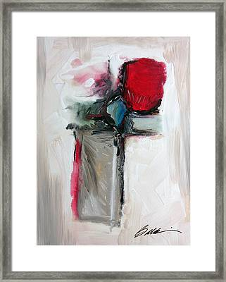 Abstract 200709 Framed Print
