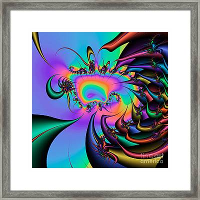 Abstract 2009041102 Framed Print by Rolf Bertram