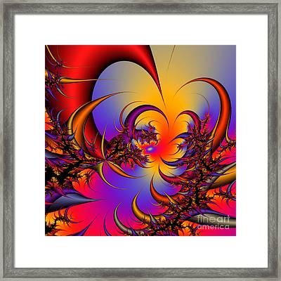 Abstract 2009041117 Framed Print by Rolf Bertram