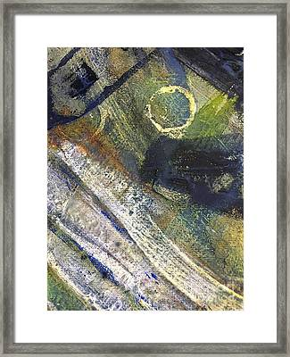 Abstract 22.2 Framed Print by Shelley Graham Turner