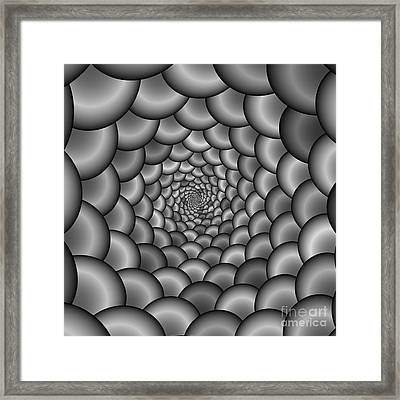 Abstract 223 Bw Framed Print by Rolf Bertram