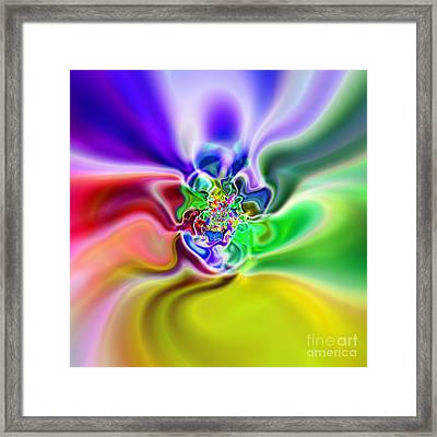 Abstract 235 Framed Print by Rolf Bertram