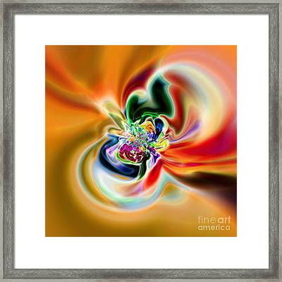 Abstract 237 Framed Print by Rolf Bertram