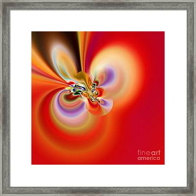 Abstract 239 Framed Print by Rolf Bertram