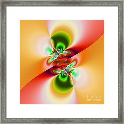 Abstract 241 Framed Print by Rolf Bertram