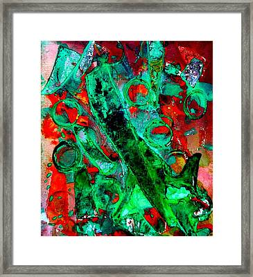 Abstract 29 Framed Print by John  Nolan