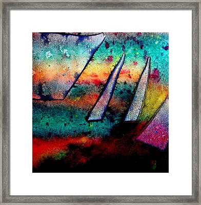 Abstract 32 Framed Print by John  Nolan